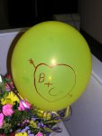 Jeff drew on my balloon... =)