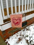 Our Welcome Flag (With Icicles)